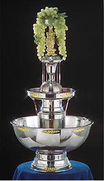 Wedding Catering Champagne Fountain